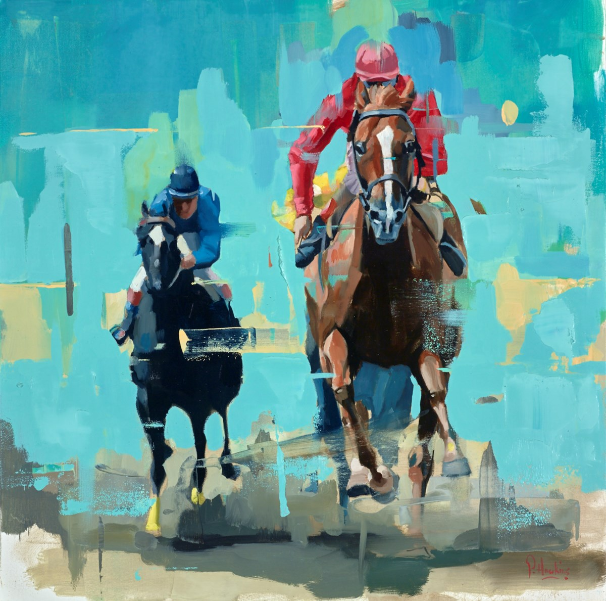 Pulling Away by pete hawkins -  sized 20x20 inches. Available from Whitewall Galleries